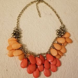 Coral Statment Necklace